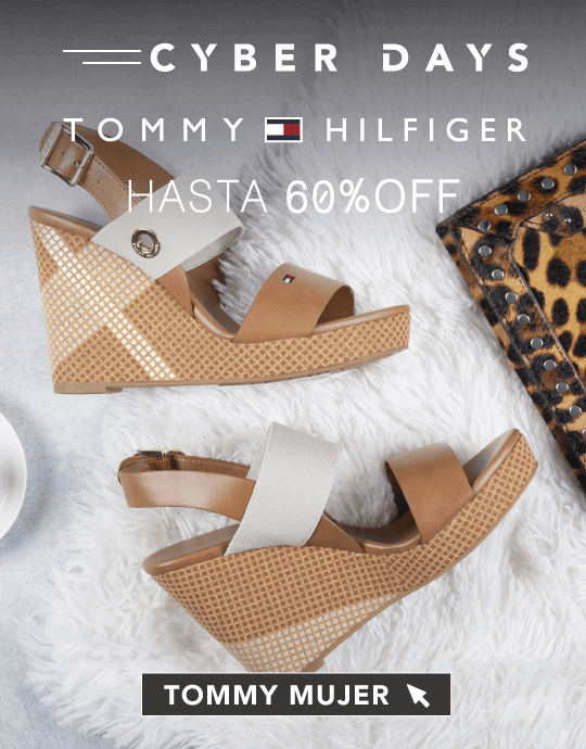 Ofertas Cyber Days Tommy Hilfiger Mujer