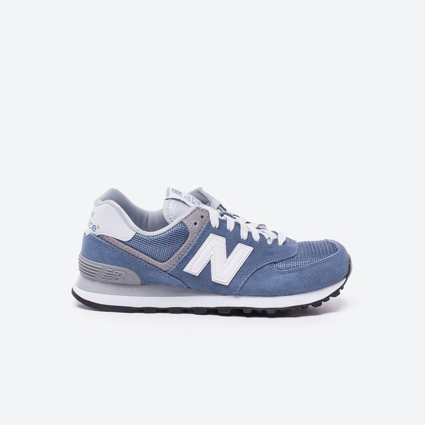 new balance azul mujer