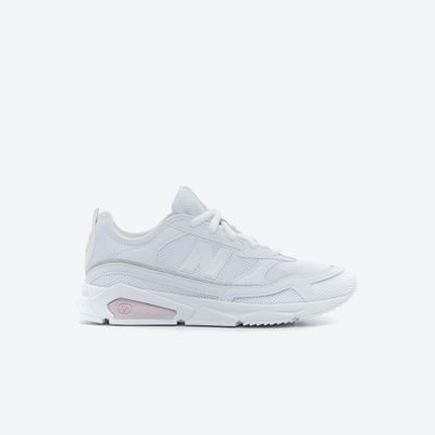 Ashley Furman Detector conservador  Tenis Casuales Mujer New Balance TDEZ Blanco - Freeport Store