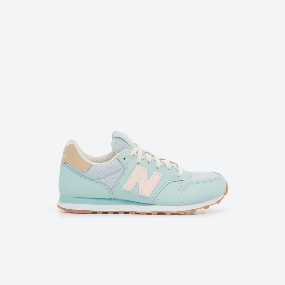 Tenis Casuales Mujer New Balance TDF3 Verde Azul
