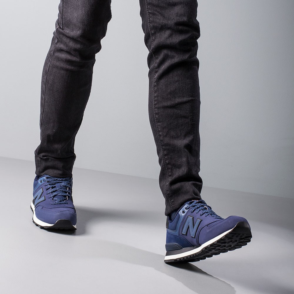 Tenis Casuales Hombre New Balance ZMDQ Azul Oscuro